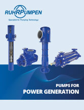 Pumps for Power Generation - EN