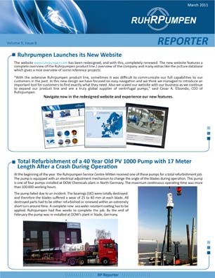 Newsletter March 2011 - English