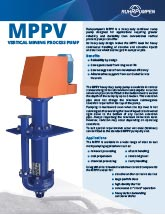 MPPV Vertical Mining Process Pump - EN