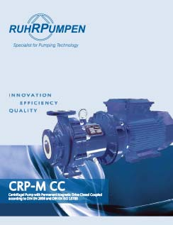 CRP Mag Drive Closed Coupled Pump Brochure - EN