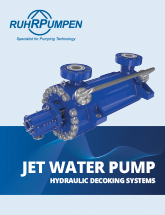 Decoking Jet Water Pump Brochure