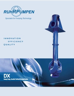 DX Double Vertical Process Pump Brochure - EN
