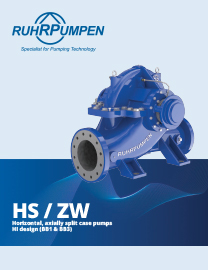 HS/ZW - Axially Split Case Pumps - EN