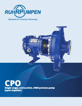 CPO - ANSI Process Pump Brochure - EN
