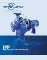 IPP - End Suction Pump Brochure - EN
