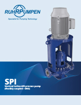 SPI - Vertical in-line API 610 process pump brochure - EN