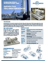RDP Application Brochure - Gas Dehydration