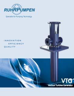 VTG Vertical Turbine Generator Brochure