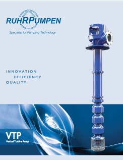 VTP Vertical Turbine Pump Brochure