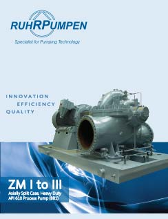 ZM - Axially Split Case API Pumps - EN