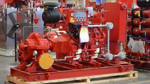 RP Commercial Fire Pump System
