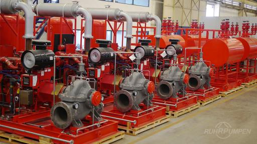 RP Horizontal Fire Pumps for Refinery