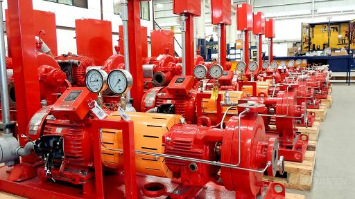 RP Horizontal Fire Pumps - Commercial
