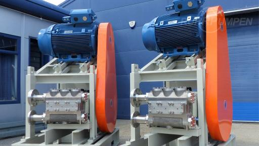RP Reciprocating Pumps for Lean TEG