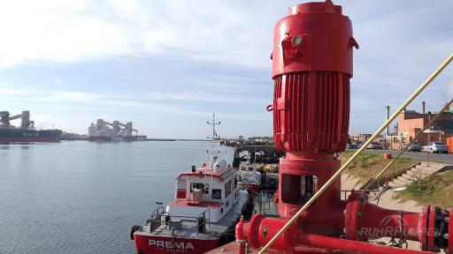 RP Vertical Fire Pump for Seawater
