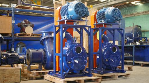 RP Self-Priming Pumps for Mining