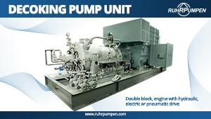 Decoking Pump Unit - Poster