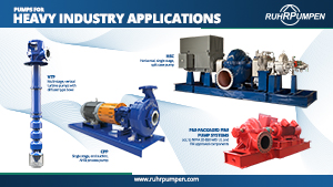 Pumps for Heavy Industry Applications - Poster
