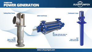 Pumps for Power Generation - Poster