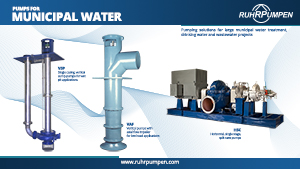 Pumps for Municipal Water - Poster