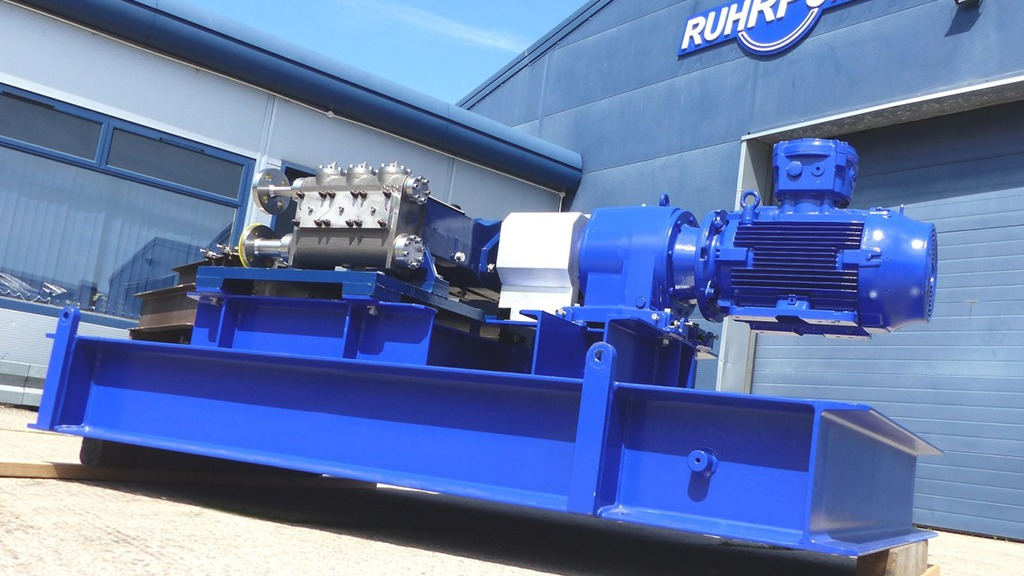 Reciprocating Plunger Pumps Ruhrpumpen