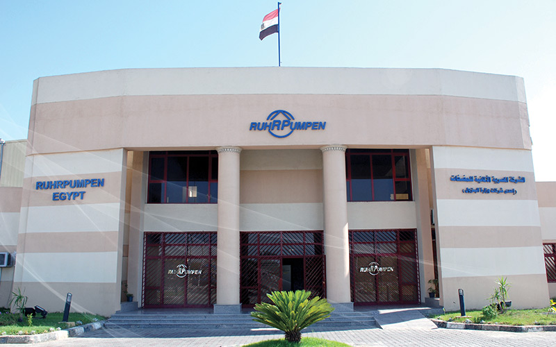 Manufacturing facility in Suez, Egypt