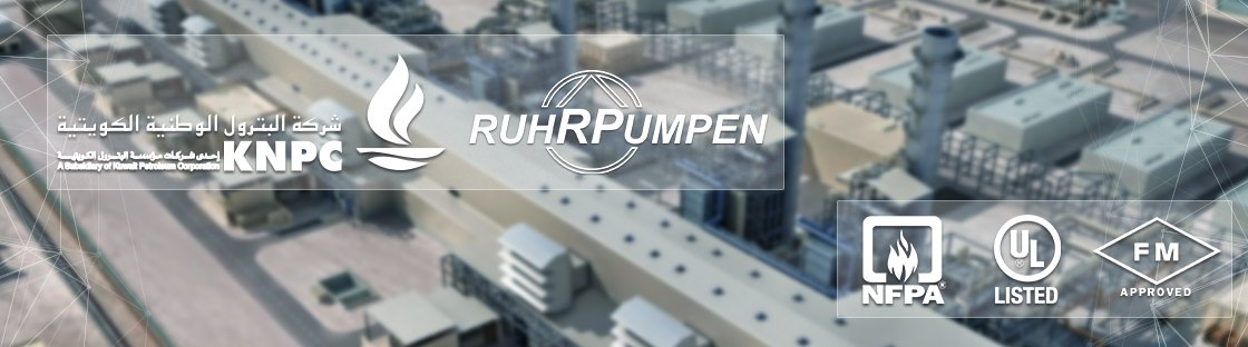 Ruhrpumpen supplies fire pumps for KNPC refinery