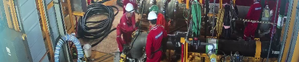 Remote monitoring of sea water lift pump installation