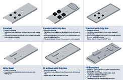 CPO pump baseplate options