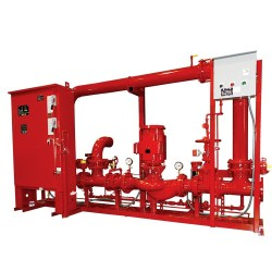 In Line Skid for Fire Fighting Applications by RP