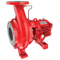 End suction fire pump by Ruhrpumpen
