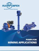 Pumps for Mining Applications - EN