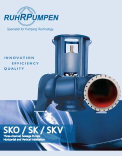 SKO, SK, SKV - Sewage Pumps Brochure EN