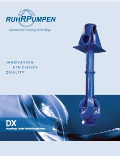 DX Double Vertical Process Pump Brochure - EN