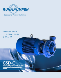 GSD-C Pump Brochure - ES