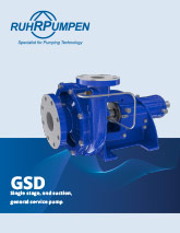 GSD General Purpose Centrifugal Pump Brochure Download
