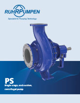 PS Single Stage Pump Brochure Download