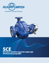 SCE API610 Process Pump Brochure Download