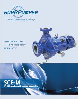 SCE Mag Drive Pump Brochure - EN