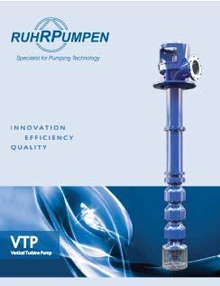 VTP Vertical Turbine Pump Brochure