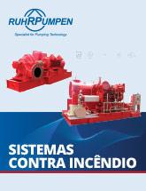 Bombas e sistemas de combate a incêndio Catálogo - PT