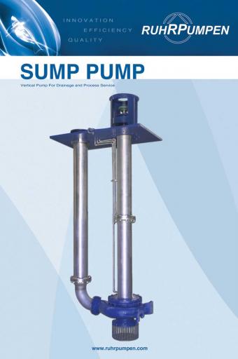 Poster Sump Pump